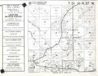 Greenland, Bohemia T51N-R37W, Ontonagon County 1959